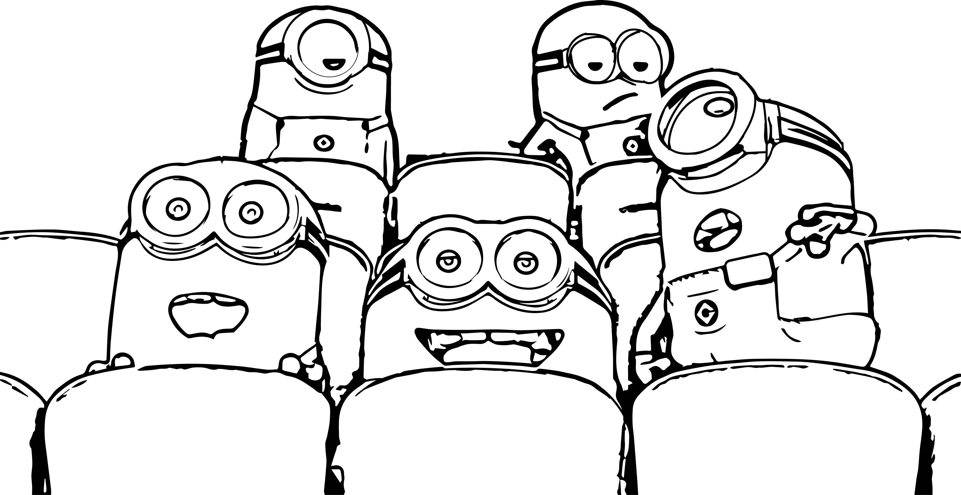 Cute-Minion-Cinema-Coloring-Page